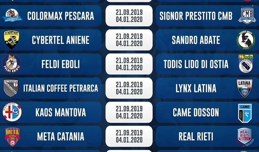 Calendario Serie A 15 Ottobre.Il Calendario Della Serie A 2019 2020 L Acquaesapone