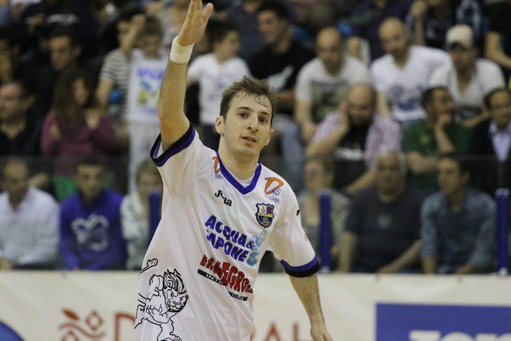 Cuzzolino è un nuovo giocatore dell'AcquaeSapone Unigross – Acqua e Sapone  Futsal
