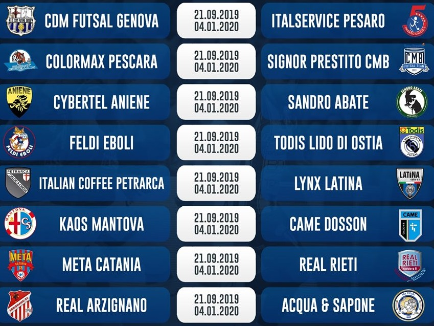 Calendario Pescara Calcio 2020.Il Calendario Della Serie A 2019 2020 L Acquaesapone